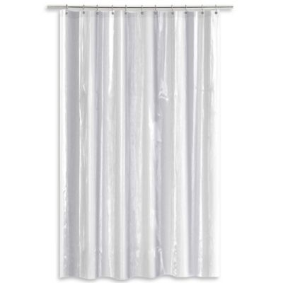 Salt Heavy Gauge Peva 70 X 84 Shower Curtain Liner In Clear