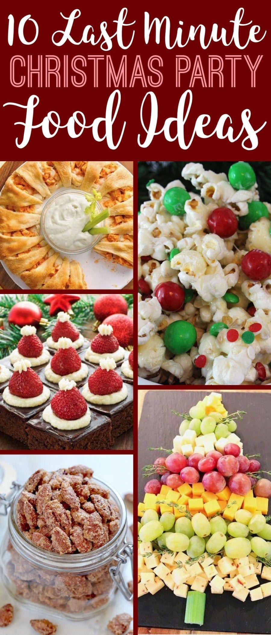 10 Last Minute Christmas Party Food Ideas - Society19