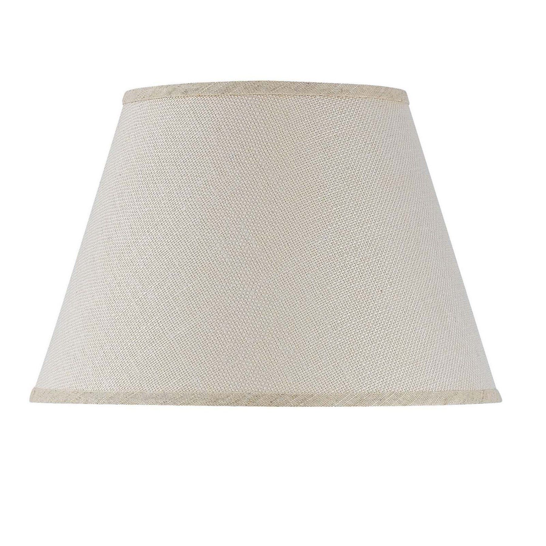 Cal Lighting Burlap Hardback Lamp Shade  Sh 1425