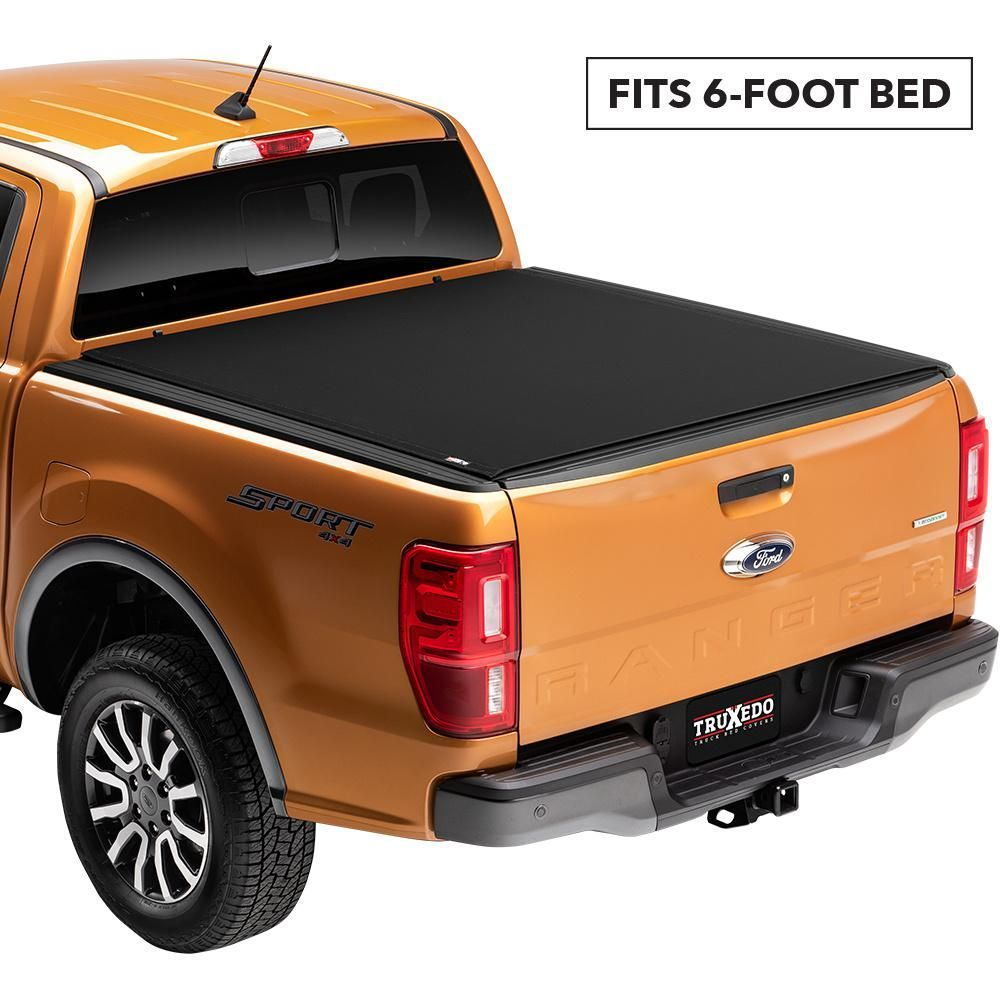 TruXedo Pro X15 Tonneau Cover 19 Ford Ranger 6 ft. Bed