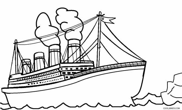 Printable Titanic Coloring Pages For Kids Cool2bkids Coloring Pages Coloring Pages For Kids Titanic