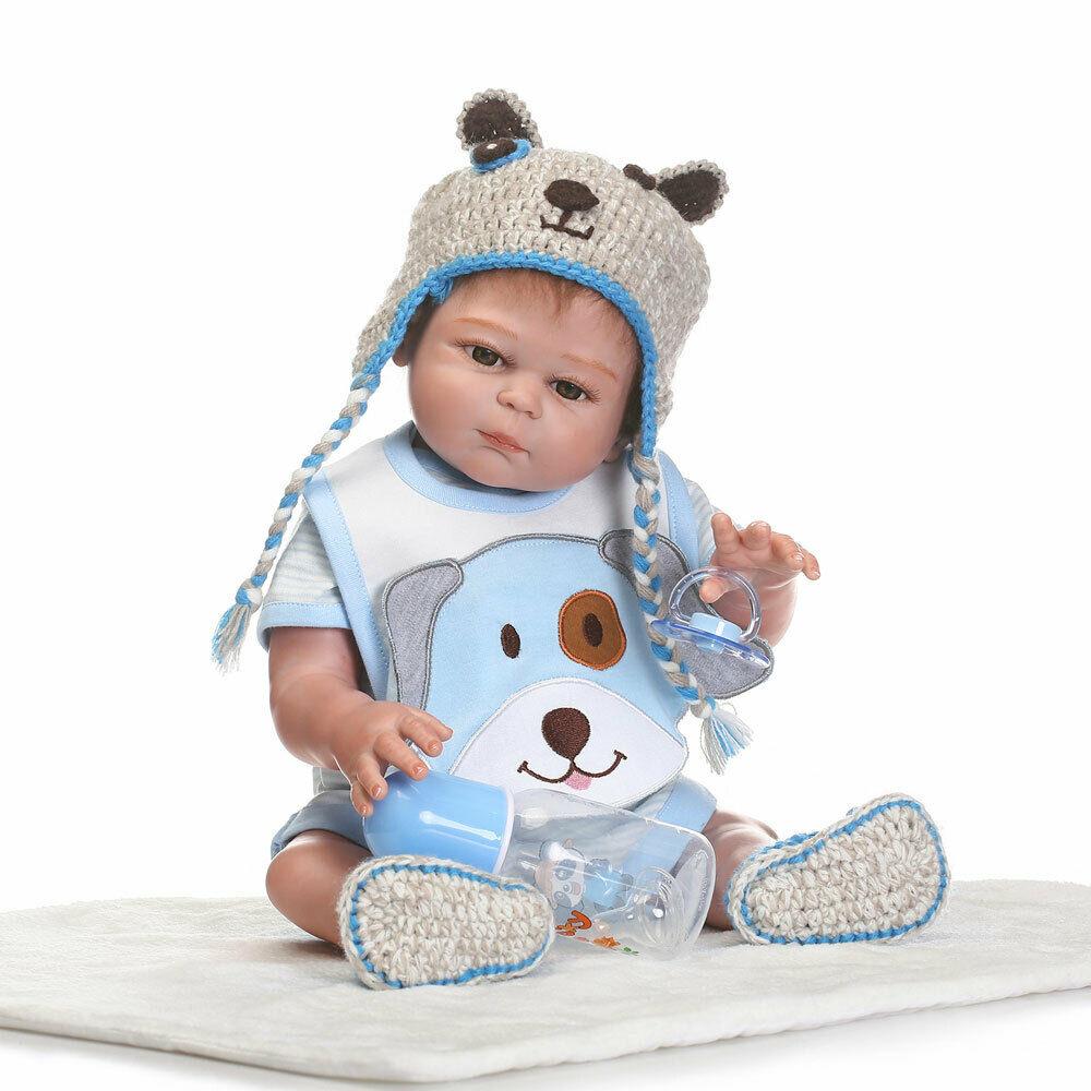 20 Reborn Newborn Baby Doll Full Body Silicone Vinyl Bath Boy With Clothes 690324472432 Ebay Reborn Babies Newborn Baby Dolls Baby Dolls