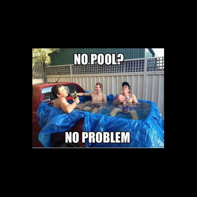 No pool, no problem.