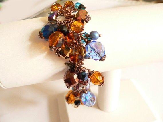 Desert Sky Beaded Bracelet by ArtBoxDesign on Etsy, $45.00