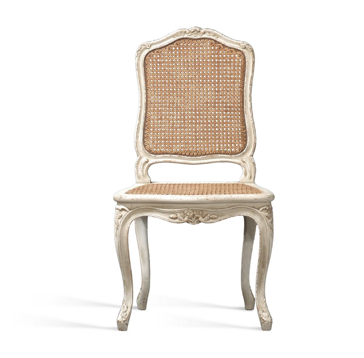 louis xv chair la reine with caned seat back. Black Bedroom Furniture Sets. Home Design Ideas