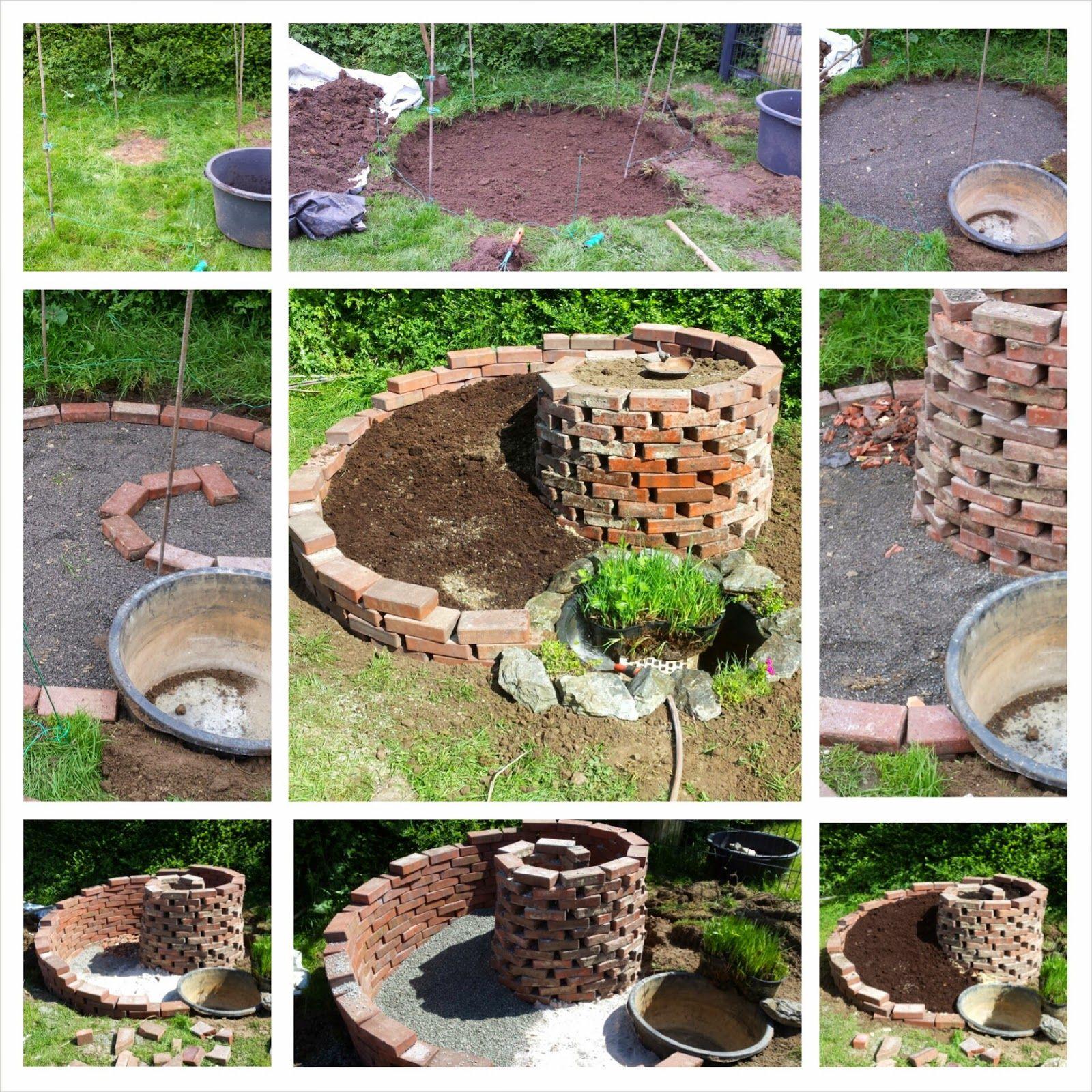 Feenwaldchen Krauterschnecke Garten Garten Pflanzen Und Garten Hochbeet