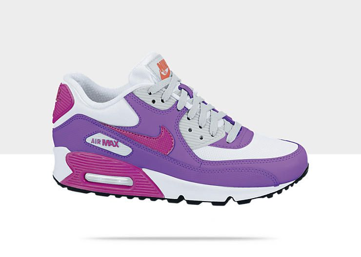 Nike Air Max 90 2007 Girls\u0027 Shoe