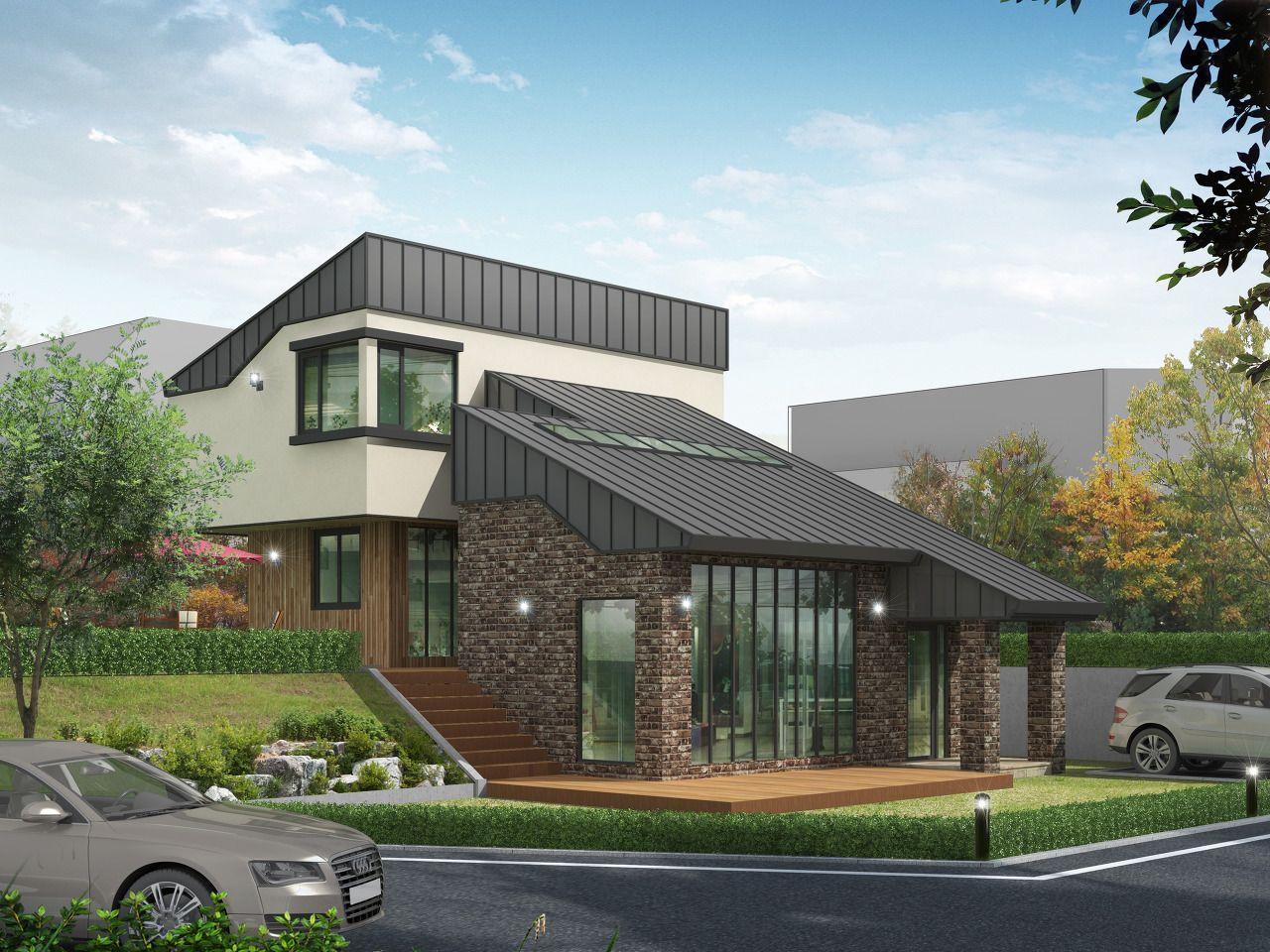 전원주택 건축비용 얼마나 들어가는지 알아보자 건축 디자인 벽돌 집 건축가