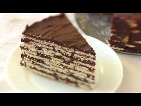 ШОКОЛАДНЫЙ ТОРТ без выпечки/ Самый простой Торт из печенья ...