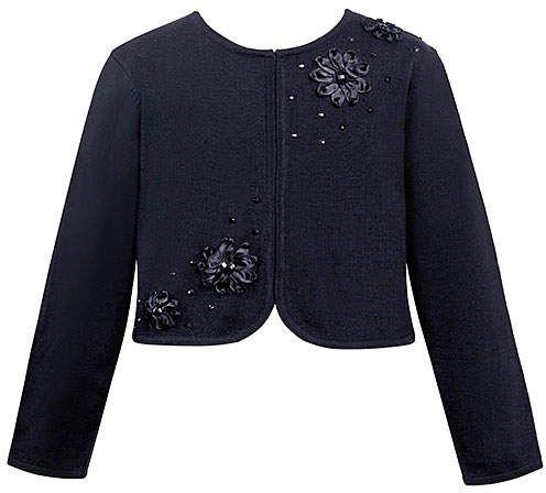 780ee1dbfc8 Navy Flower Cardigan - Infant   Girls  Boasting cardigan sweater ...
