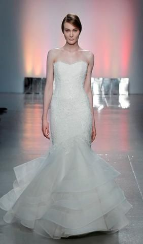 Try this French Alencon Lace wedding dress. From Rivini. Available ...