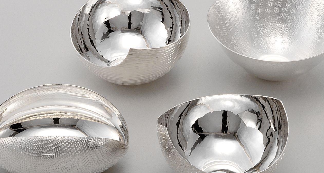 Zanetto Agentia Uk Wedding Bowls Snacks Formed Metal