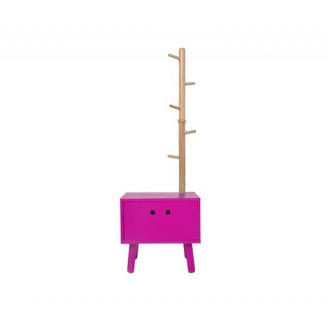 Schubladenschrank Garderobe Dresser für Kinder pink - Freudenhaus Designkaufhaus