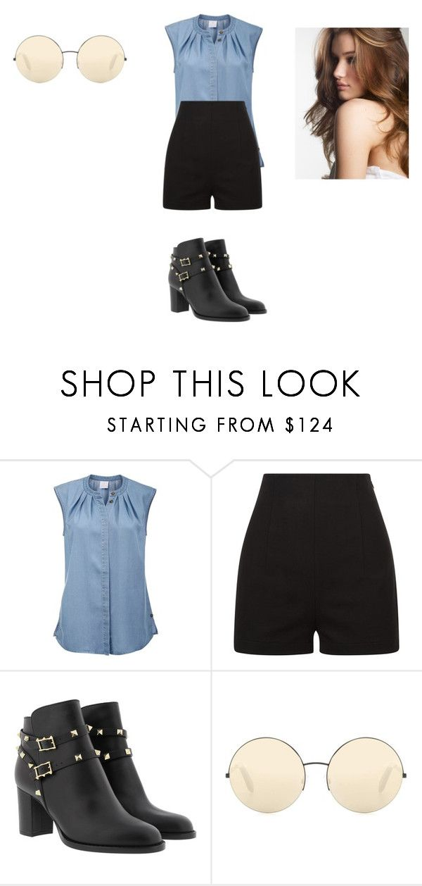 """Sans titre #8690"" by ghilini-l-roquecoquille ❤ liked on Polyvore featuring Victoria Beckham"