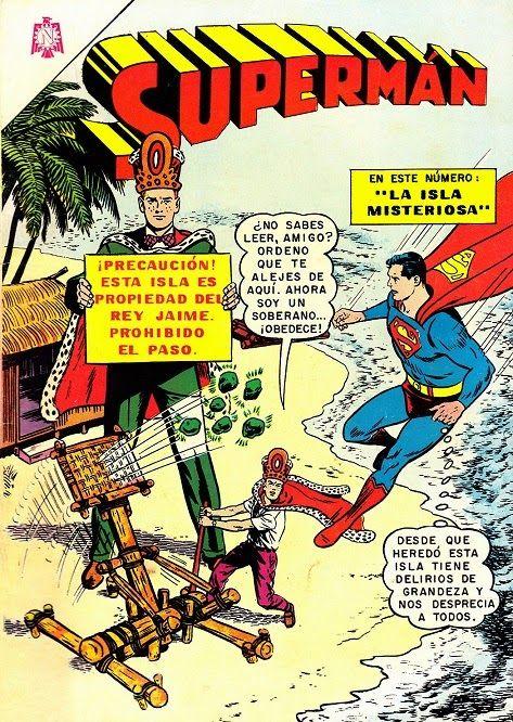 Historietas Viejas: SUPERMÁN - AÑO XV - N°566 | Comics ...