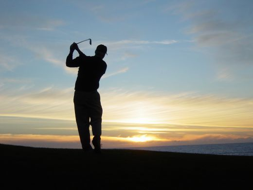 Image result for relaxing golf