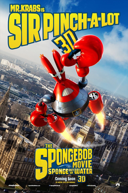 the spongebob movie sponge out of water mr krabs uk version
