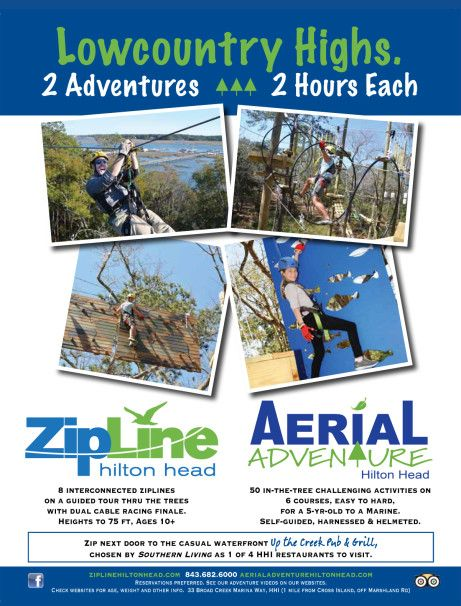 101 Things To Do In Hilton Head Zip Lining