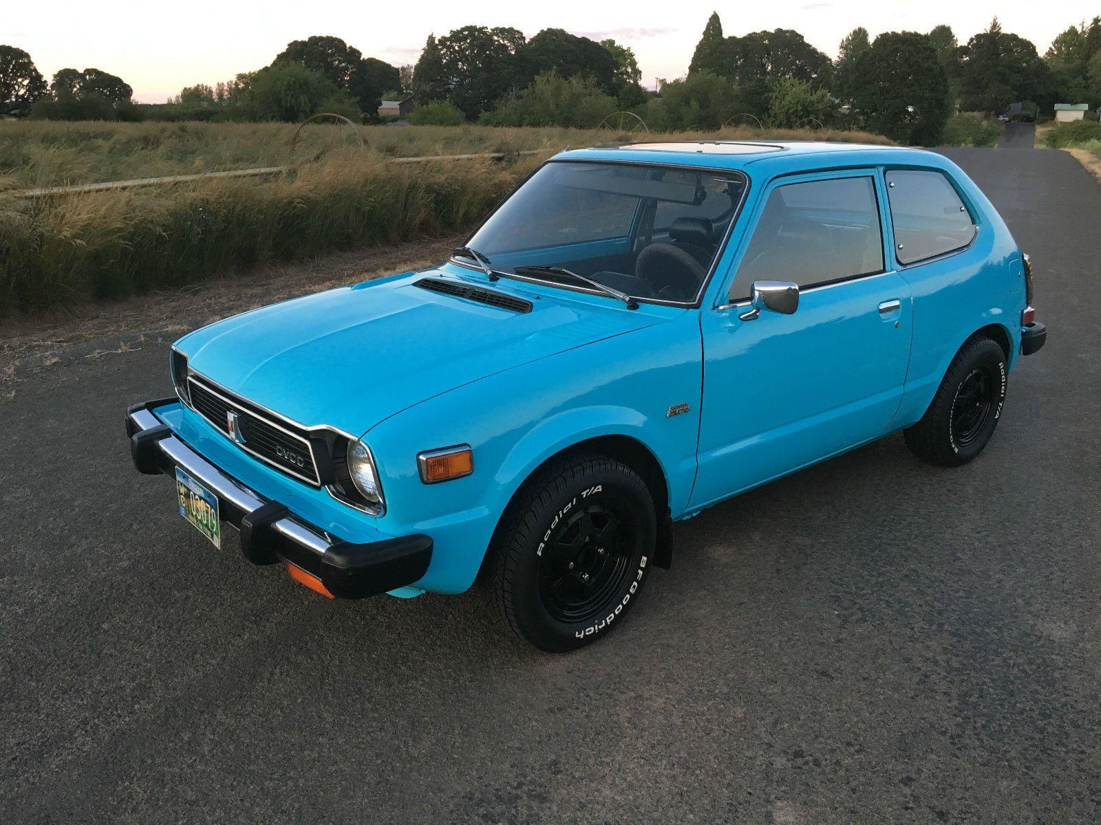 Car brand auctionedHonda Civic 3Door Hatchback 1978 Car