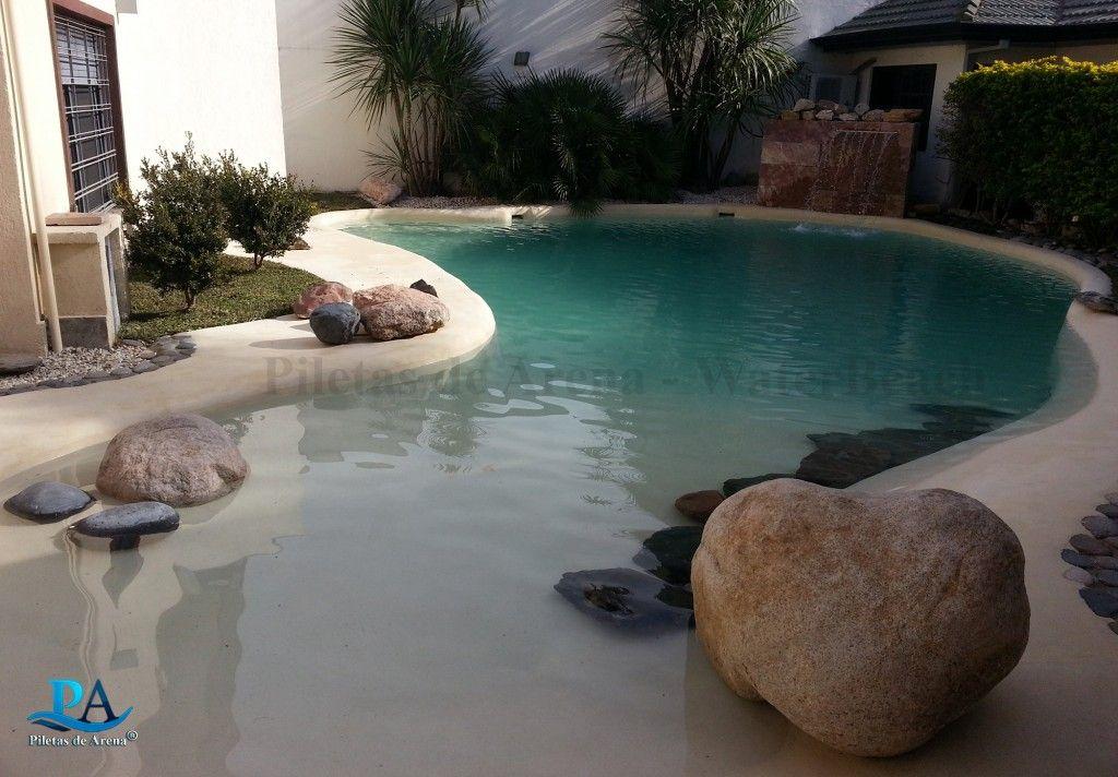 Fotograf as de piscinas de arena piletas de arena la for Piscinas de arena