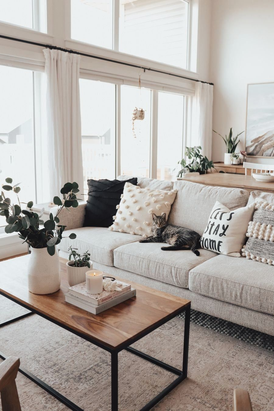 How To Style A Small Living Room - #livingroomdesigns