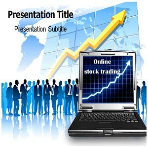 Online Stock Trading Powerpoint Templates Online Stock Trading