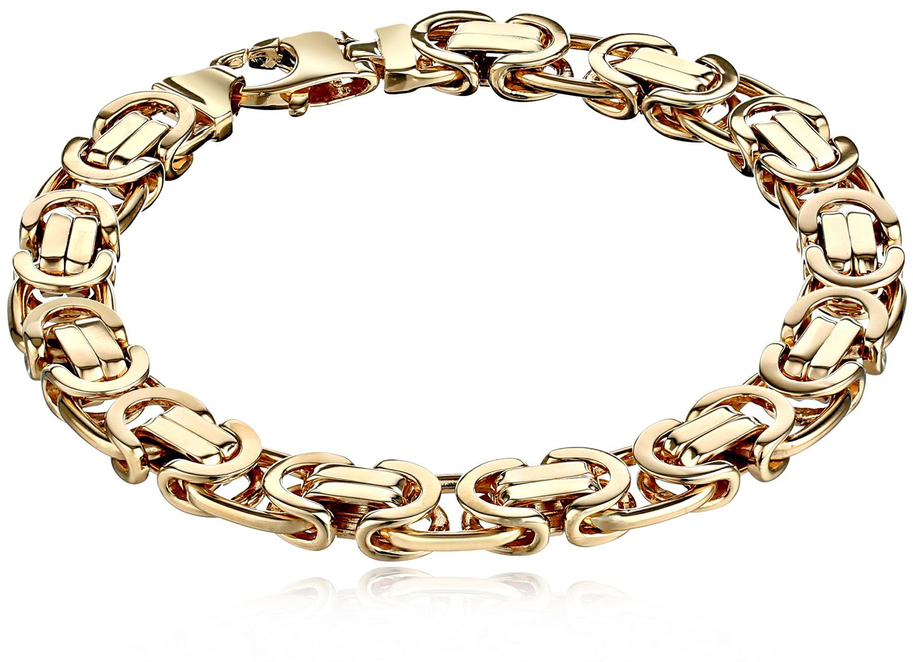 Fine Jewelry Made in Italy 14K Round Byzantine Bracelet