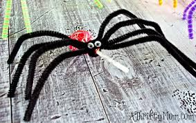 Image result for how to make a spider out of recycled toilet rolls
