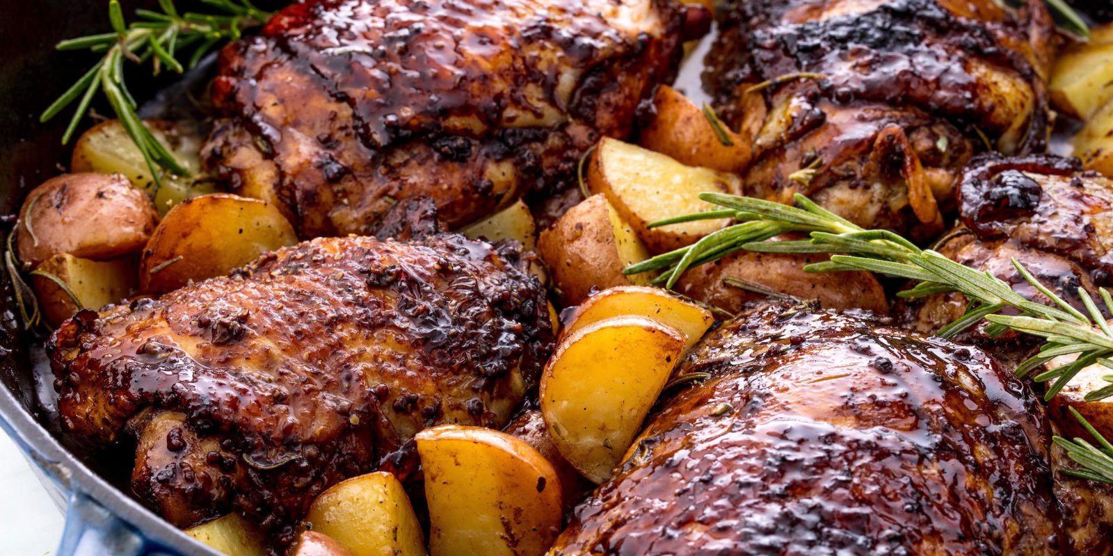 Balsamic Glazed Chicken