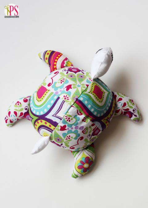 Sea Turtle Softie Sewing Pattern | Pinterest | Tiere nähen ...
