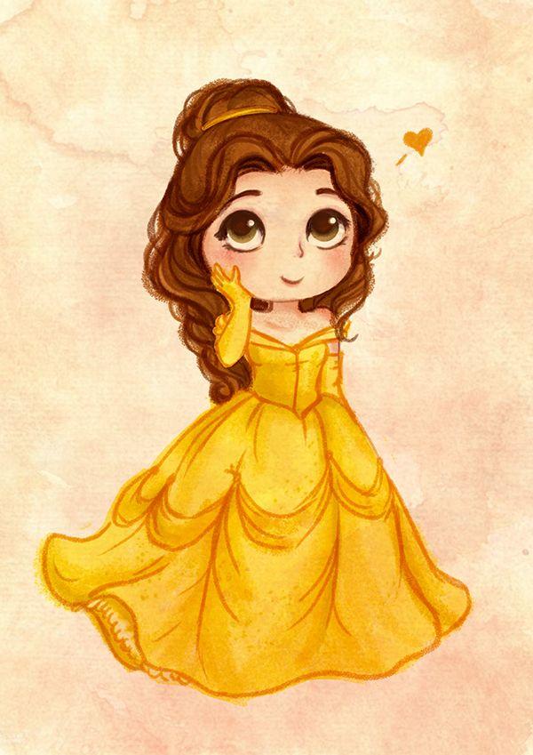 Ilustracoes De Algumas Das Princesas Disney Desenho E Pintura