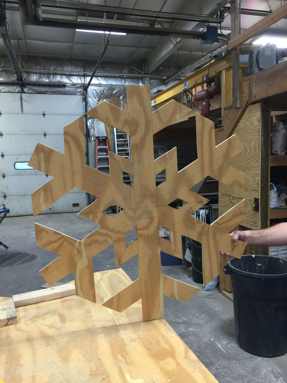 Image Result For Diy Large Wooden Snowflakes Wooden Snowflakes Christmas Crafts Decorations Wood Crafts