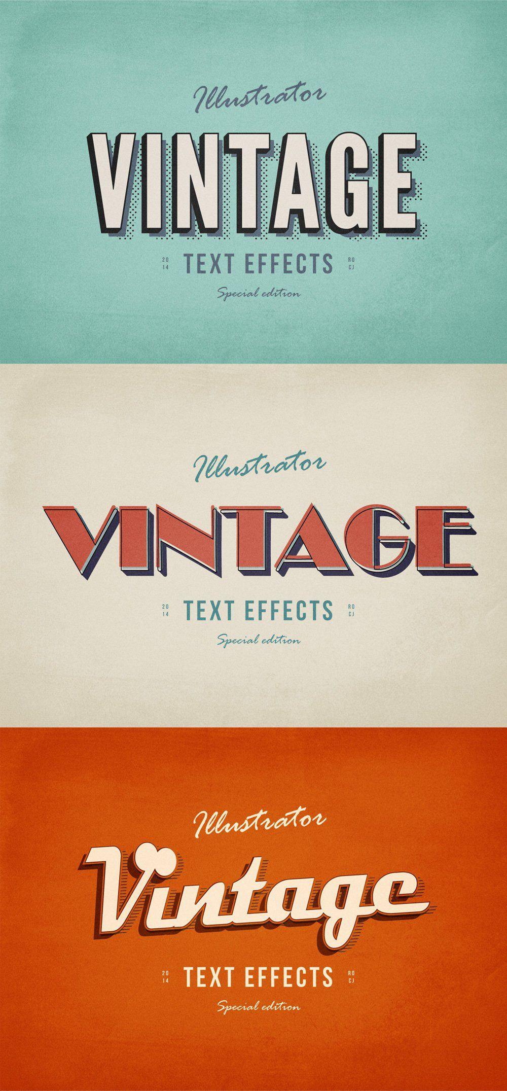 Latest Free Photoshop Text Styles Effects Css Author Retro Text Vintage Text Lettering