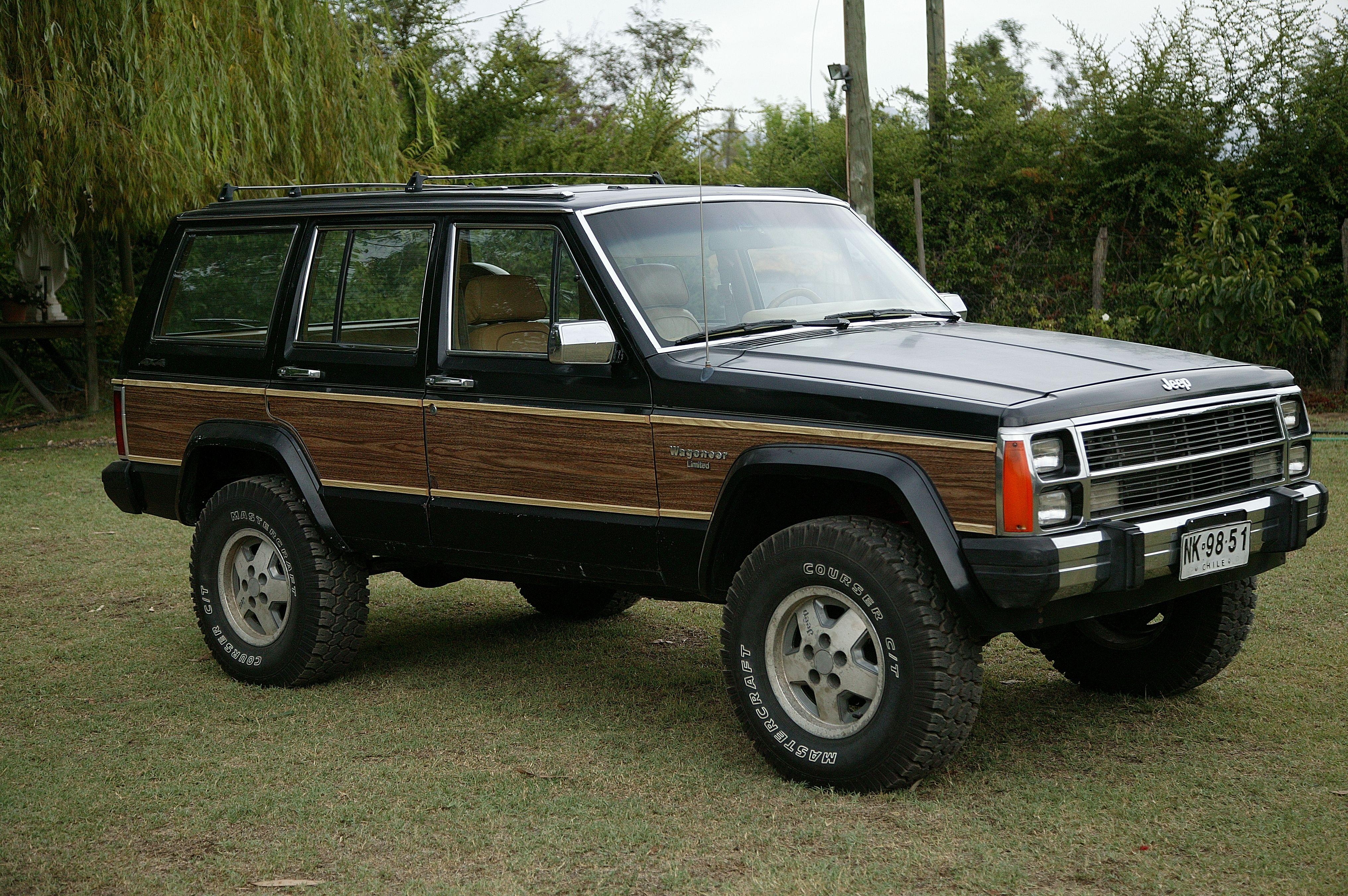 Jeep Wagoneer Limited 1988 Jeep Wagoneer Jeep Cherokee Xj Jeep Cherokee