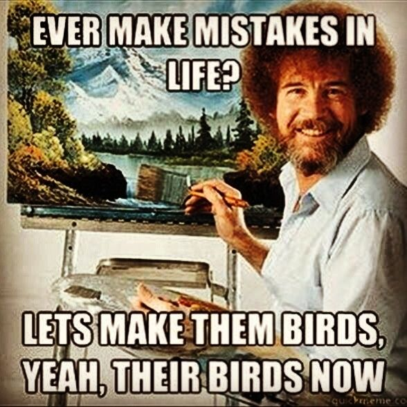 Bob Ross Quotes. QuotesGram by quotesgram Grappige