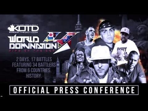 KOTD - #WD4 - OFFICIAL PRESS CONFERENCE