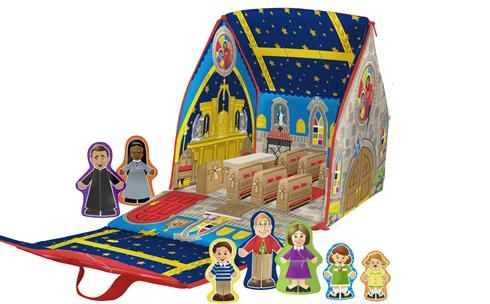 My Quiet Church Think Of A Doll House That Opens Out