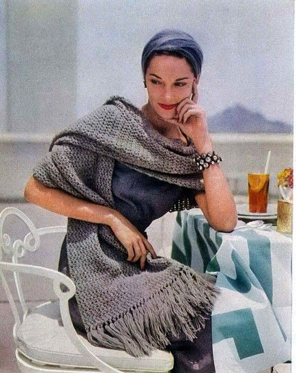 1952 Vogue Knitting Pattern Ladies Who Lunch Pinterest