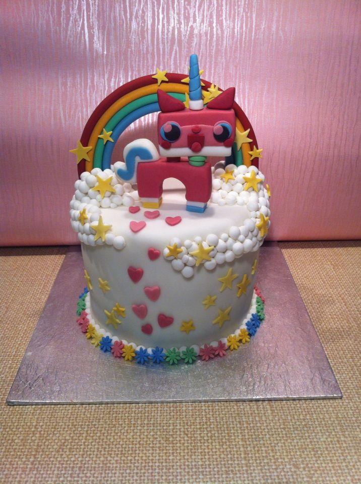 Unikitty Lego Girls Birthday Cake Made By Nai Nai S Cake