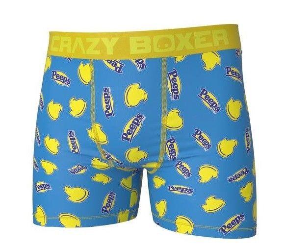 a6b697f92171 CRAZY BOXER Men's Peeps marshmallow candies Boxer Briefs underwear XL NEW  #CrazyBoxer #BoxerBrief #peeps