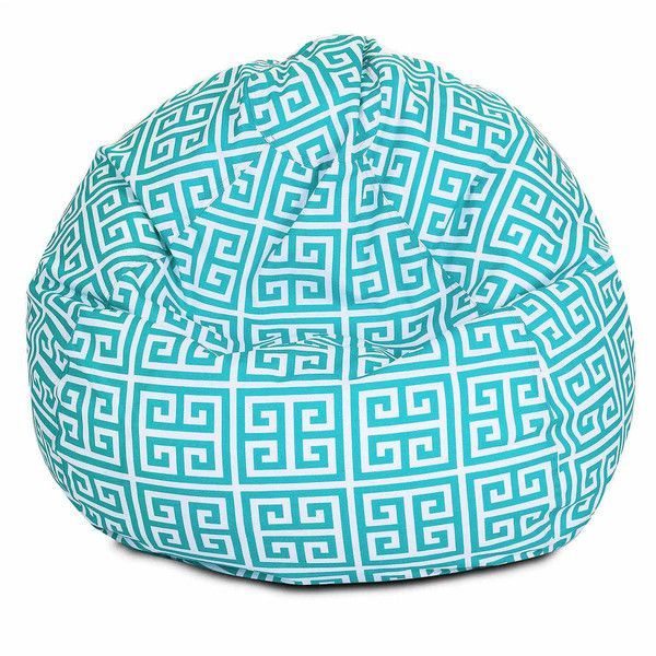 Outdoor Small Bean Bag Chair (£97) ❤ Liked On Polyvore Featuring Home,  Outdoors, Patio Furniture, Outdoor Chairs, Outdoor Beanbag, Outdoor Garden  Furniture ...