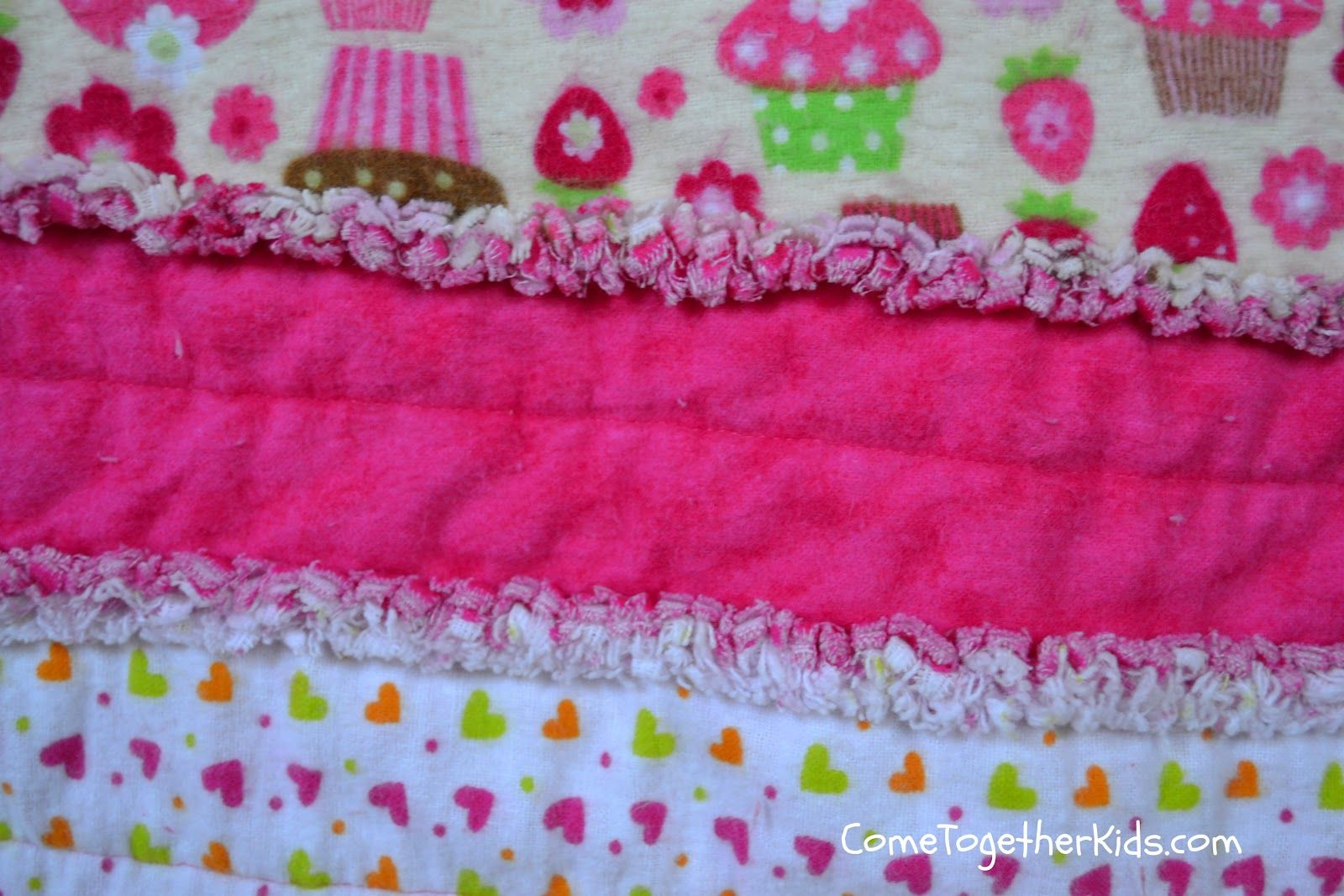 how to make an easy quilt blanket