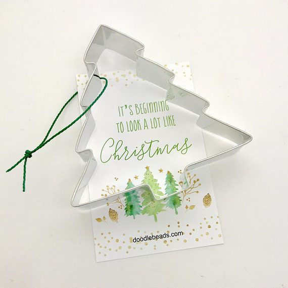 Christmas Tree Cookie Cutter, Christmas cookie Cutter, Holiday