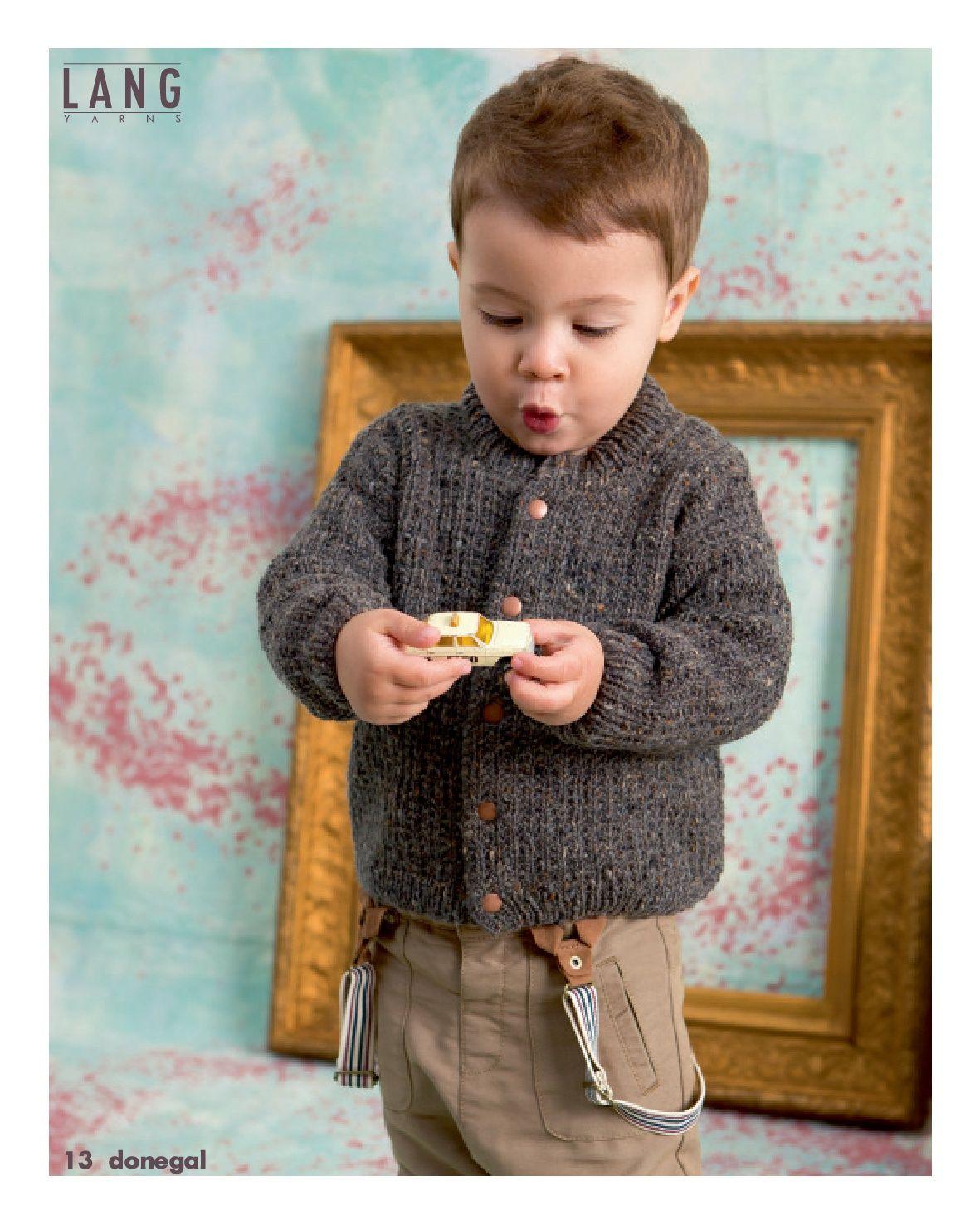 Jacke aus Donegal von @langyarns, Modell 13, Fatto A Mano 234 Elle Tricote