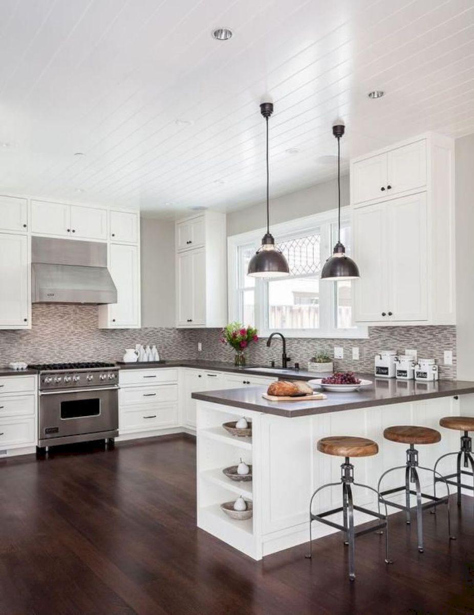 38 Luxury White Kitchen Cabinets Design Ideas | Cabinet design ...