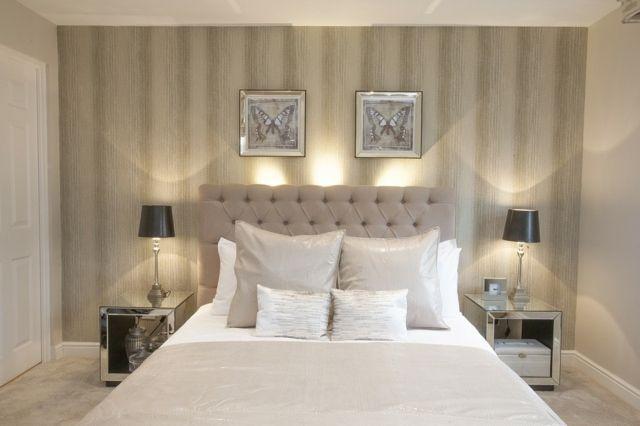 D coration de chambre 55 id es de couleur murale et tissus d coration de - Cadre chambre adulte ...