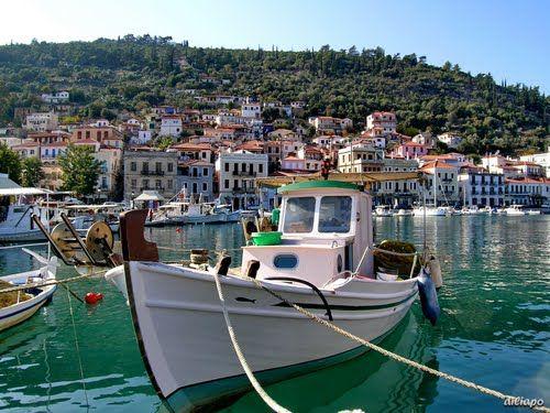 Gythio - a fishermen town