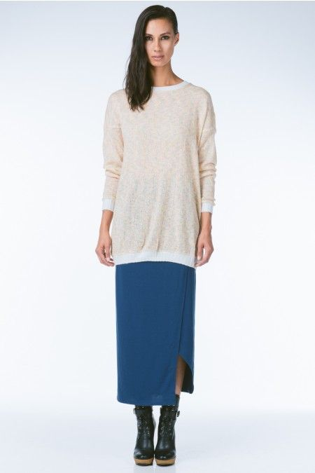 ANTHOM - Funktional Pastel Spectrum Tunic Sweater
