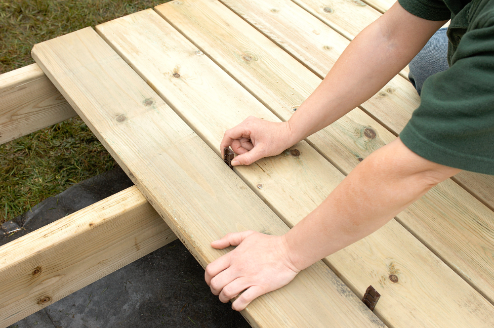 Build Your Dream Deck With One Of These Free Do It Yourself Plans In 2020 Building A Deck Diy Deck Pool Deck Plans