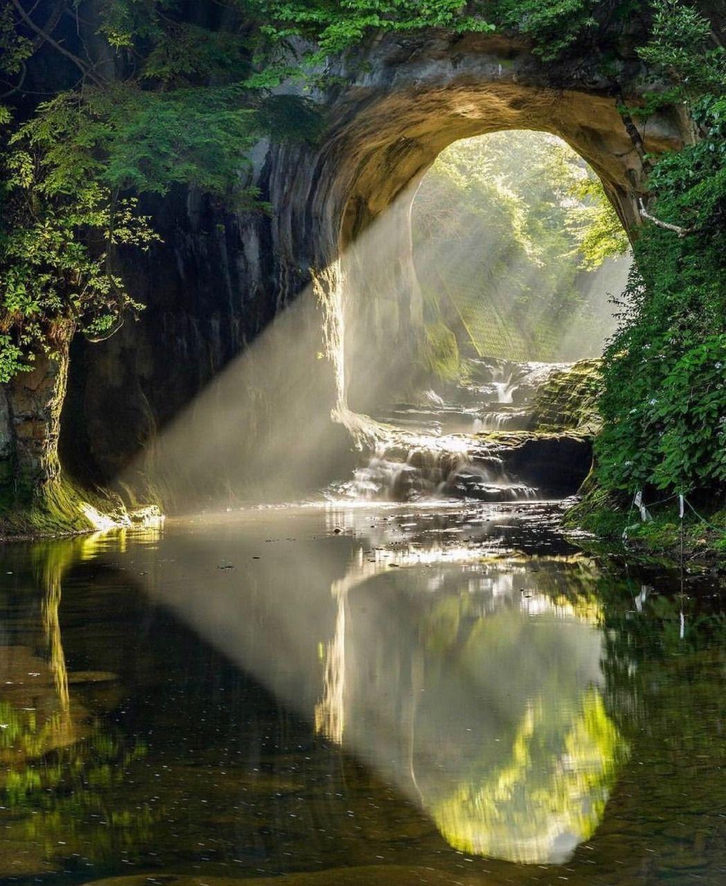 Amazing Nature: Corsica-hawke: Nomizu Cave, Chiba Japan In 2019